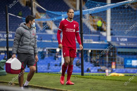 Editorial photo of Britain Liverpool Football Premier League Everton Fc vs Liverpool Fc - 17 Oct 2020