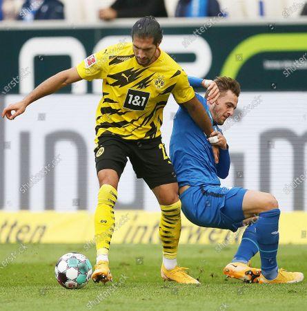 Editorial image of Germany Hoffenheim Football Bundesliga Dortmund vs Hoffenheim - 17 Oct 2020