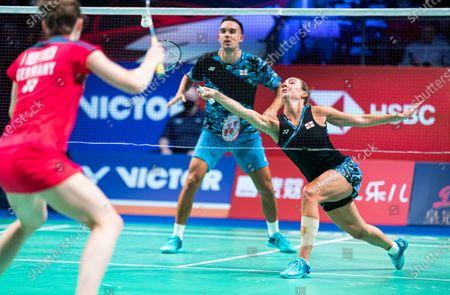Editorial picture of Badminton Danisa Denmark Open, Odense - 18 Oct 2020