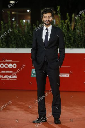 Francesco Scianna arrives for the screening of 'Open Your Eyes' at the 15th annual Rome International Film Festival, in Rome, Italy, 18 October 2020. The film festival runs from 15 to 25 October.