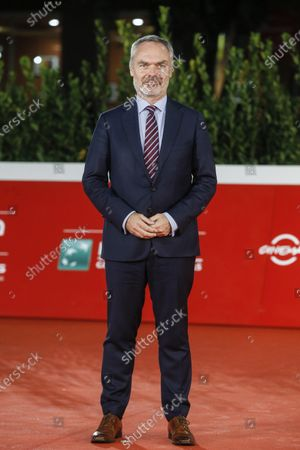 Swedish Ambassador to Italy Jan Bjorklund arrives for the screening of 'Tigers' at the 15th annual Rome International Film Festival, in Rome, Italy, 18 October 2020. The film festival runs from 15 to 25 October.