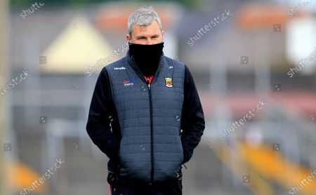 Stock Picture of Galway vs Mayo. Mayo manager James Horan