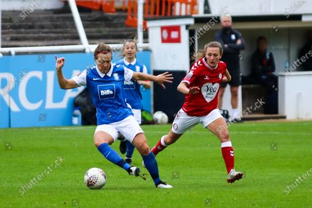 Charlie Wellings of Bristol City Women presses the ball- Mandatory by-line: Will Cooper/JMP