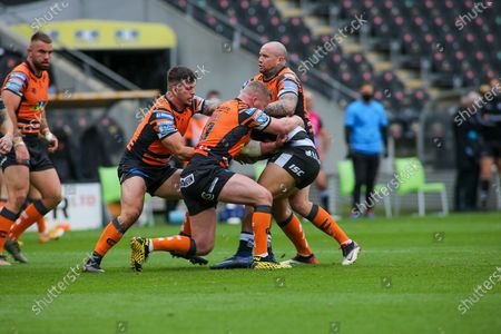 Editorial picture of Hull FC v Castleford Tigers, Betfred Super League - 18 Oct 2020