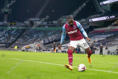 Arthur Masuaku of West Ham United in action