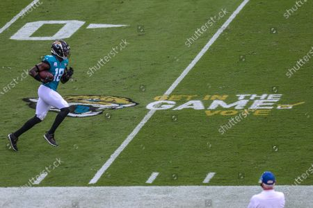 Editorial picture of Lions Jaguars Football, Jacksonville, United States - 18 Oct 2020