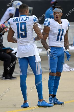 Editorial photo of Lions Jaguars Football, Jacksonville, United States - 18 Oct 2020