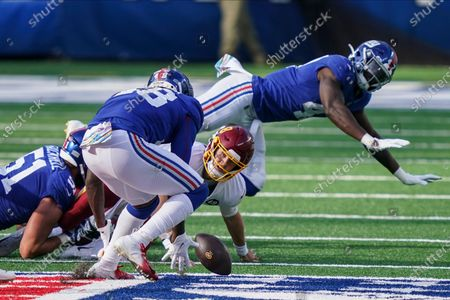 Editorial picture of Washington Giants Football, East Rutherford, United States - 18 Oct 2020