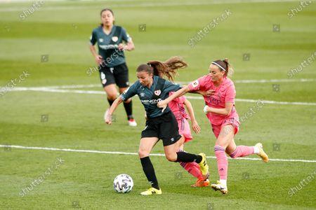 Editorial photo of Soccer: Women - Real Madrid Fem v Rayo Vallecano Fem, Valdebebas, Spain - 18 Oct 2020
