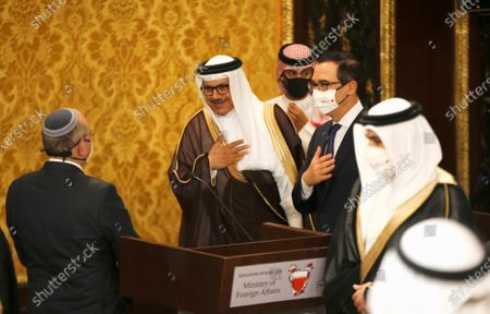 Editorial photo of Israeli delegation signs agreement with Bahraini officials in Manama, Bahrain - 18 Oct 2020