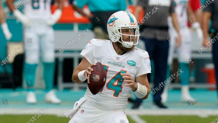 Editorial picture of Jets Dolphins Football, Miami Gardens, United States - 18 Oct 2020