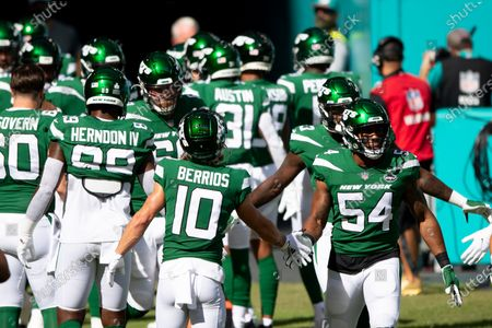 Editorial image of Jets Dolphins Football, Miami Gardens, United States - 18 Oct 2020