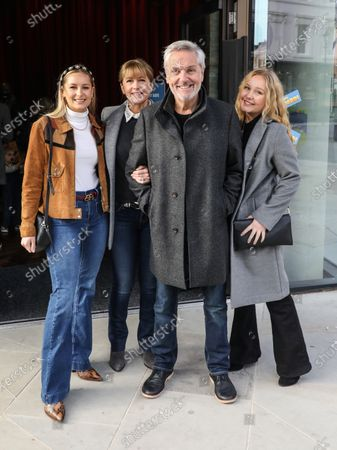 Stock Picture of Brian Conley, Lucy Conley, Amy Conley and Anne-Marie Conley