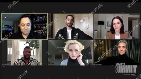 Scott Feinberg, Riz Ahmed, Rachel Brosnahan, Winston Duke, Julia Garner and Vanessa Kirby