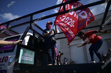 Editorial photo of Presidential Election, Carolina, Puerto Rico - 18 Oct 2020