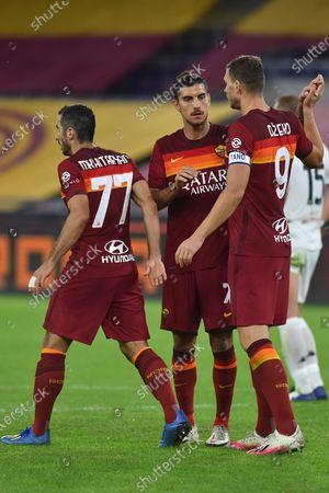 Stock Image of Edin Dzeko of Roma