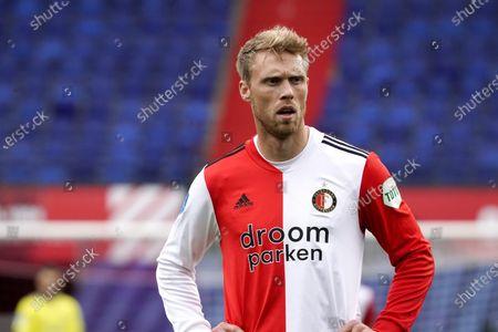 Nicolai Jorgensen of Feyenoord during Eredivisie match Feyenoord vs Sparta in Stadion Feyenoord in Rotterdam, Netherlands