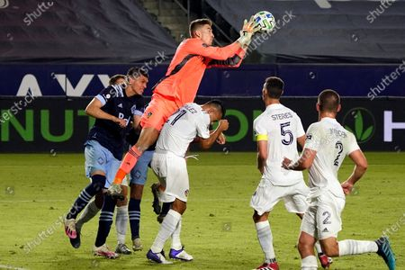 Editorial photo of MLS Whitecaps Galaxy Soccer, Carson, United States - 18 Oct 2020