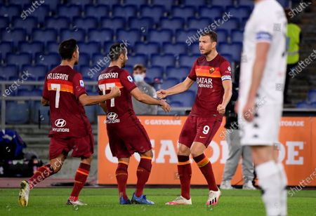 Editorial picture of Italy Rome Football Serie a Roma vs Benevento - 18 Oct 2020