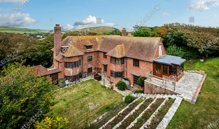 Editorial photo of House for sale, Lulworth Cove, Dorset, UK - 10 Oct 2020