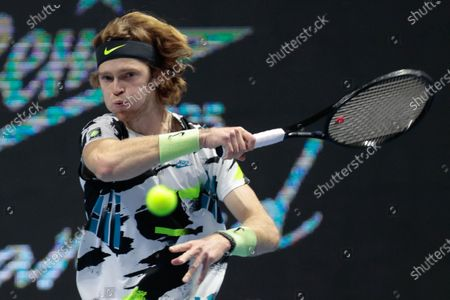 Editorial photo of ATP St.Petersburg Open, Russia - 18 Oct 2020