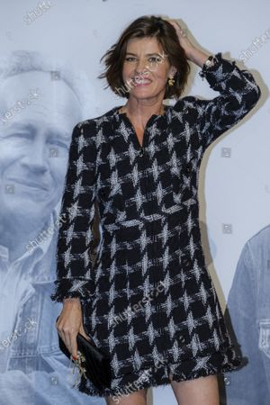 Irene Jacob attends the tribute to the brothers Jean-Pierre and Luc Dardenne at the 12th Film Festival Lumiere in Lyon.
