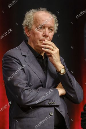 Jean-Pierre Dardenne attends the tribute to the brothers Jean-Pierre and Luc Dardenne at the 12th Film Festival Lumiere in Lyon.