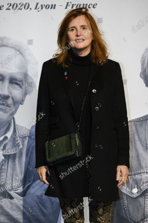 Marie-Castille Mention-Schaar attends the tribute to the brothers Jean-Pierre and Luc Dardenne at the 12th Film Festival Lumiere in Lyon.