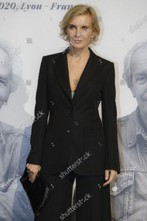 Melita Toscan du Plantier attends the tribute to the brothers Jean-Pierre and Luc Dardenne at the 12th Film Festival Lumiere in Lyon.