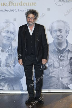 Radu Mihaileanu attends the tribute to the brothers Jean-Pierre and Luc Dardenne at the 12th Film Festival Lumiere in Lyon.