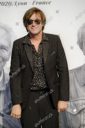 Thomas Dutronc attends the tribute to the brothers Jean-Pierre and Luc Dardenne at the 12th Film Festival Lumiere in Lyon.