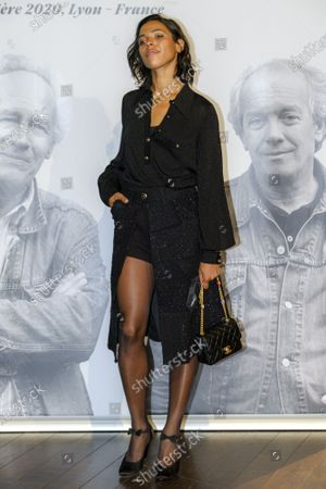Zita Hanrot attends the tribute to the brothers Jean-Pierre and Luc Dardenne at the 12th Film Festival Lumiere in Lyon.