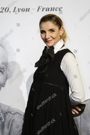 Stock Image of Clotilde Courau attends the tribute to the brothers Jean-Pierre and Luc Dardenne at the 12th Film Festival Lumiere in Lyon.
