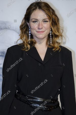 Emilie Dequenne attends the tribute to the brothers Jean-Pierre and Luc Dardenne at the 12th Film Festival Lumiere in Lyon.