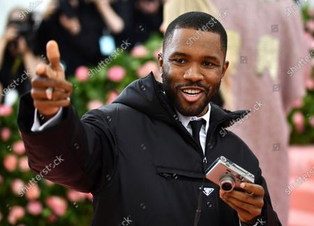 """Frank Ocean attends The Metropolitan Museum of Art's Costume Institute benefit gala celebrating the opening of the """"Camp: Notes on Fashion"""" exhibition, in New York. Ocean turns 33 on Oct. 28"""