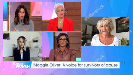 Stock Picture of Andrea McLean, Denise Welch, Carol McGiffin, Saira Khan and Maggie Oliver