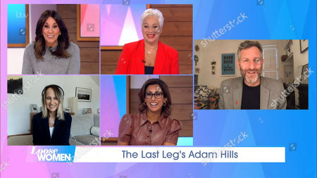 Andrea McLean, Denise Welch, Carol McGiffin, Saira Khan and Adam Hills