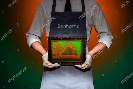 Editorial image of Preview of Bonhams' Post-War & Contemporary Art sale., New Bond Street, London, UK - 19 Oct 2020