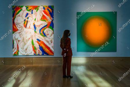 Editorial picture of Preview of Bonhams' Post-War & Contemporary Art sale., New Bond Street, London, UK - 19 Oct 2020