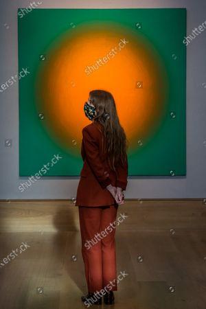 Peter Schuyff, Untitled, 1987, est £ 6,000 - 8,000 - Preview of Bonhams' Post-War & Contemporary Art sale,in new Bond Street.