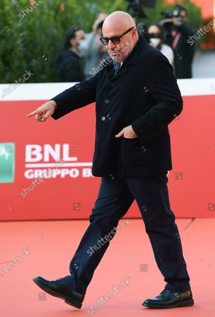Gianfranco Rosi attends the 15th annual Rome Film Festival, in Rome, Italy, 19 October 2020. The film festival runs from 15 to 25 October.