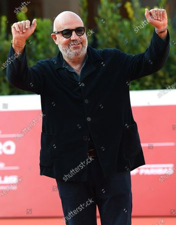 Gianfranco Rosi attends the 15th annual Rome International Film Festival, in Rome, Italy, 19 October 2020. The film festival runs from 15 to 25 October.