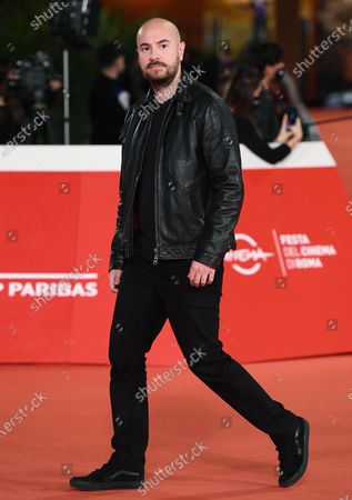 Kyan Khojandi arrives for the screening of 'Le Discours' (The Speech) at the 15th annual Rome International Film Festival, in Rome, Italy, 19 October 2020. The film festival runs from 15 to 25 October.