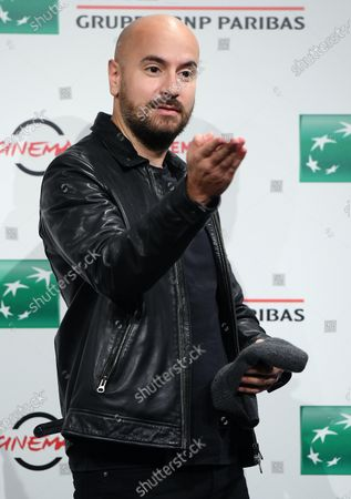 Kyan Khojandi poses during the photocall for the movie 'Le Discours' (The Speech) at the 15th annual Rome International Film Festival, in Rome, Italy, 19 October 2020. The film festival runs from 15 to 25 October.