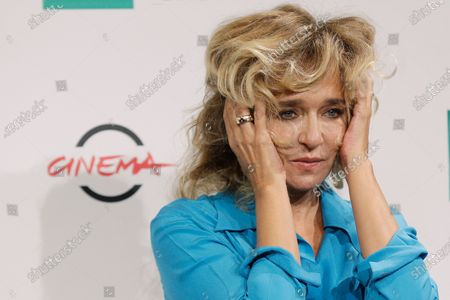 """Actress Valeria Golino poses for photographers during the photo call for the movie """"Fortuna"""" at the Rome Film Festival, in Rome"""