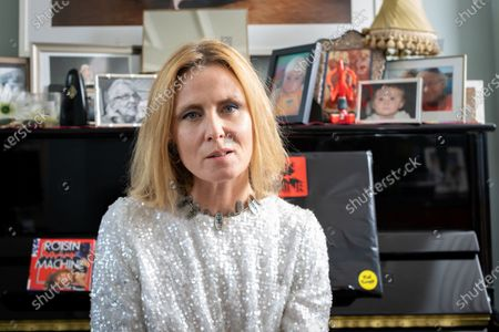Stock Image of Roisin Murphy, Irish Singer, songwriter and performer photographed at her home