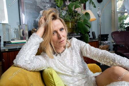 Editorial image of Roisin Murphy photoshoot at her home in Cricklewood, London, UK - 14 Oct 2020