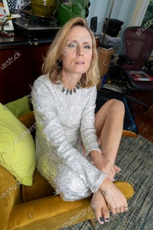 Stock Picture of Roisin Murphy, Irish Singer, songwriter and performer photographed at her home