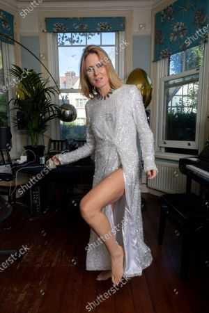 Editorial picture of Roisin Murphy photoshoot at her home in Cricklewood, London, UK - 14 Oct 2020