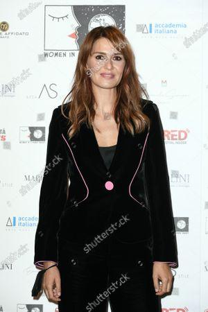 Stock Photo of Actress Paola Cortellesi